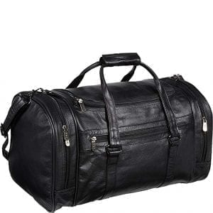 Black Leather Travel Bags Amerileather