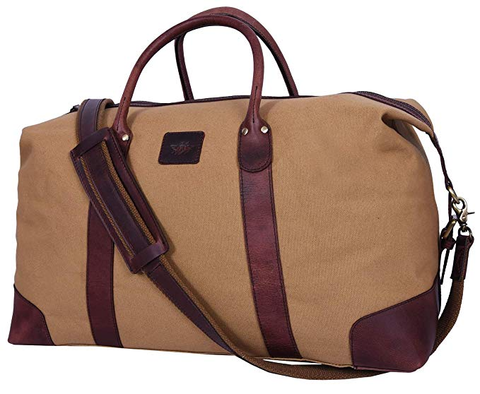 Canvas & Leather Travel Bags